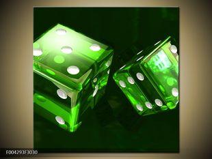 Zelené kostky