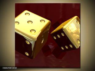Zlaté hrací kostky