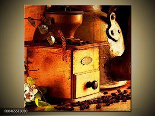 Dřevěný kávový mlýnek