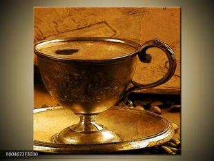 Plný šálek kávy