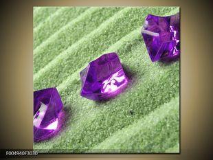 Fialové krystalky