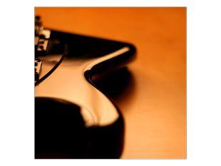 Černá kytara