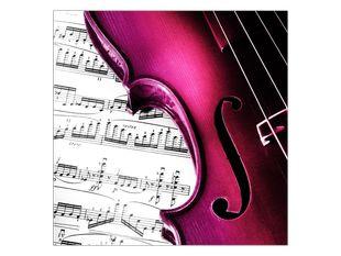 Zbarvené housle