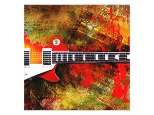 Barevná elektrická kytara