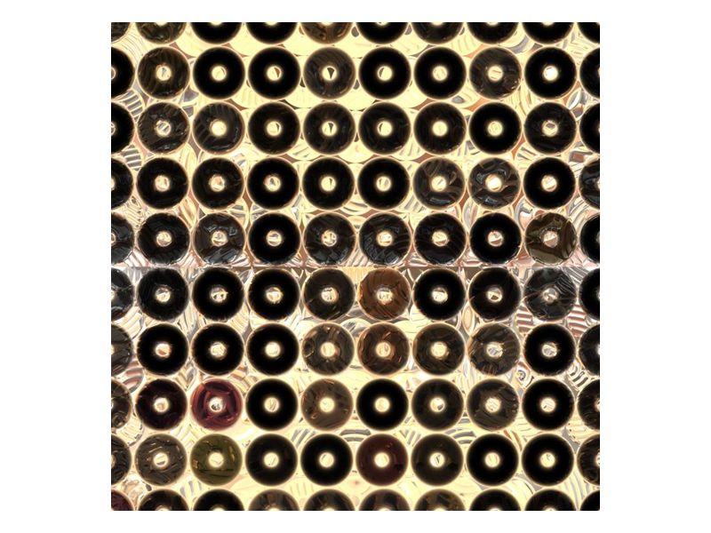 Gramofónové desky na zdi