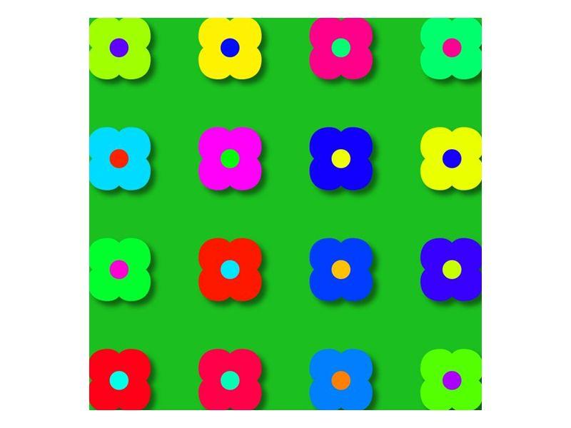 Barevné květinky