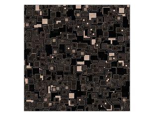 Kostky černá