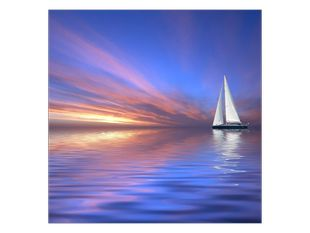 Jachta na jezeře