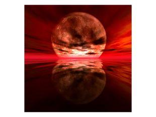 Červený měsíc
