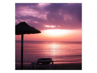 Západ slunce v ráji