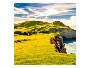 Zelená skaliska