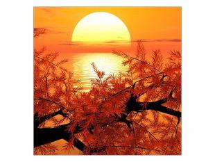 Slunce za mořem