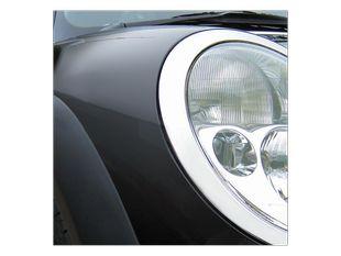 Světlo u auta černá