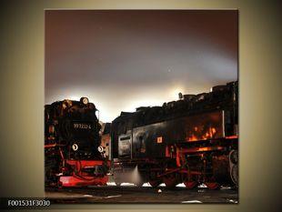 Vlaky v záři