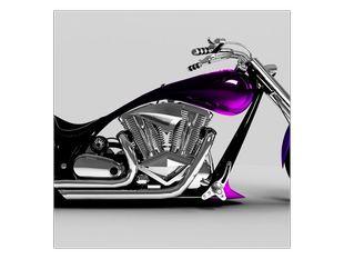 Motorka fialová