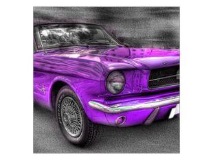 Auto fialová