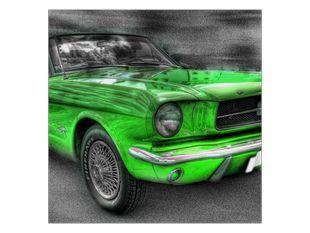 Zelené auto