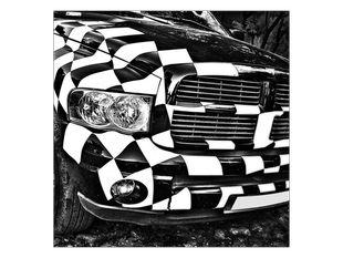 Auto šachovnice
