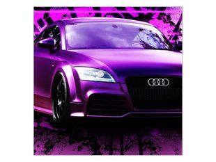 Fialové Audi