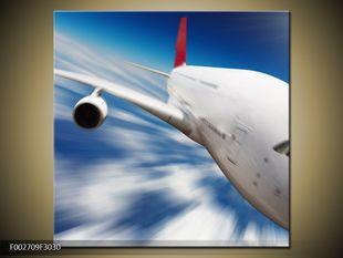 Letadlo v pohybu
