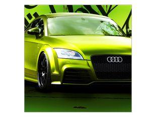Audi zelená