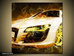 Auto dýmový efekt