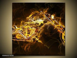 Motorka zlatý efekt