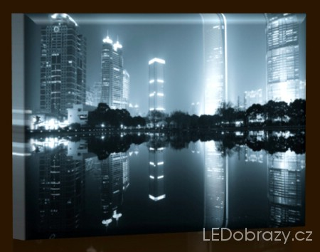 Šanghai v noci