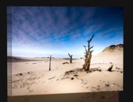 Vyprahlá pláž