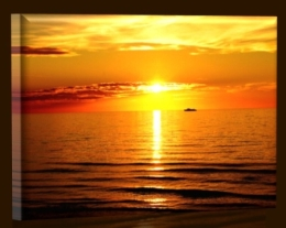 Západ slunce na moři 2