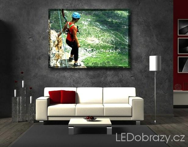 LED obraz z vlastní fotografie
