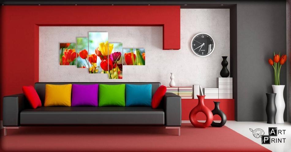 barevný obraz do obyváku