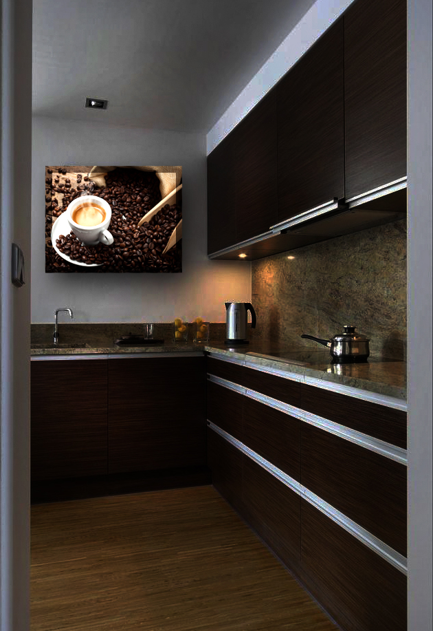 Obraz kávy v kuchyni