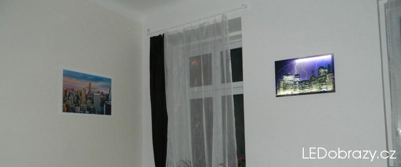 Srovnání klasického obrazu a LED obrazu