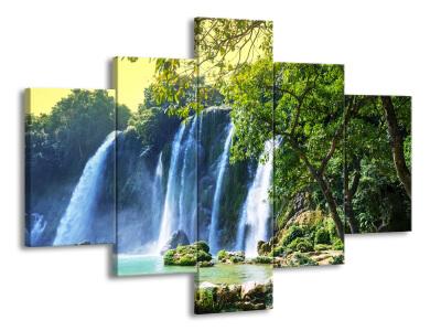 Ukázka vícedílných obrazů na stěnu